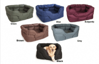 Heavy Duty Waterproof Rectangular Dog Beds